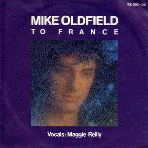 Mike Oldfield - To France CD (album) cover