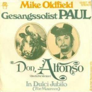 Mike Oldfield - Don Alfonso (german Version) CD (album) cover