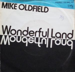 Mike Oldfield - Wonderful Land CD (album) cover