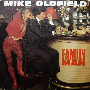 Mike Oldfield - Family Man CD (album) cover