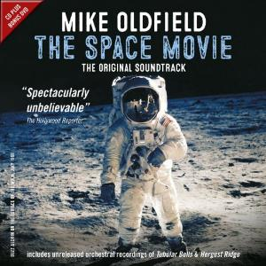 Mike Oldfield - The Space Movie CD (album) cover