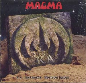 Magma - K.a - Extraits - Edition Radio CD (album) cover