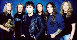 IRON MAIDEN image groupe band picture