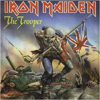 Iron Maiden - The Trooper CD (album) cover