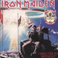 Iron Maiden - 2 Minutes To Midnight CD (album) cover