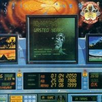 Iron Maiden - Wasted Years CD (album) cover