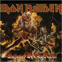 Iron Maiden - Hallowed Be Thy Name (Live) CD (album) cover