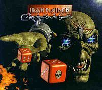 Iron Maiden - The Angel And The Gambler CD (album) cover
