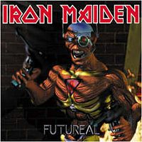 Iron Maiden - Futureal CD (album) cover