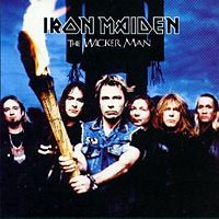 Iron Maiden - The Wicker Man CD (album) cover
