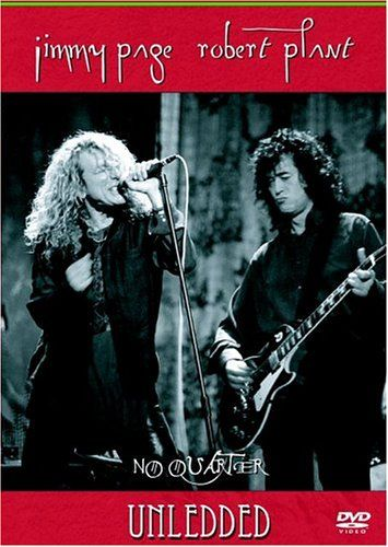 Robert Plant - No Quarter Unledded DVD (album) cover