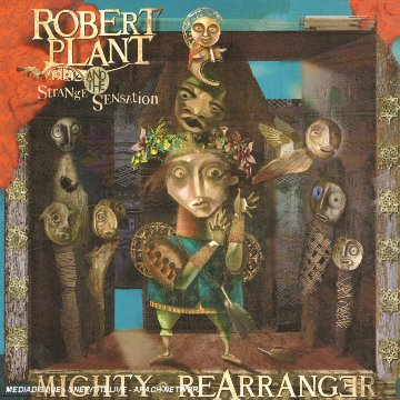 Robert Plant - Mighty Rearranger CD (album) cover