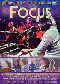 Focus - Masters From The Vault DVD (album) cover