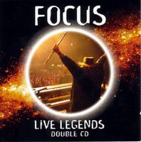 Focus - Live Legends - The Greatest Hits Of Focus CD (album) cover