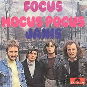 FOCUS - Hocus Pocus / Janis CD album cover