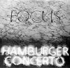 Focus - Hamburger Concerto CD (album) cover