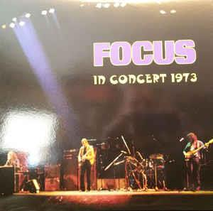 Focus - In Concert 1973 CD (album) cover