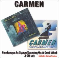 Carmen - Fandangos In Space/Dancing On A Cold Wind CD (album) cover