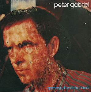 Peter Gabriel - Games Without Frontiers CD (album) cover