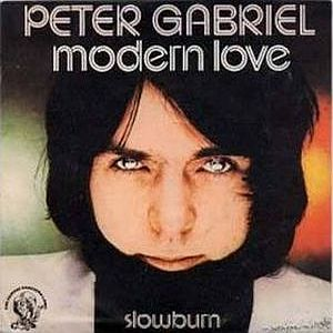 Peter Gabriel - Modern Love CD (album) cover
