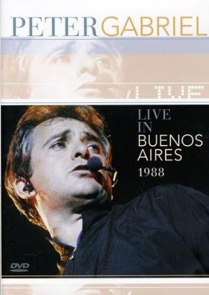 Peter Gabriel - Live In Buenos Aires 1988 DVD (album) cover