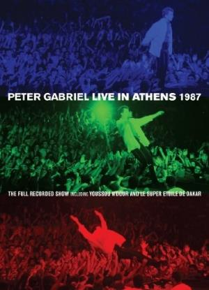 Peter Gabriel - Live In Athens 1987 DVD (album) cover