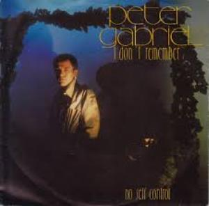 Peter Gabriel - I Don't Remember CD (album) cover