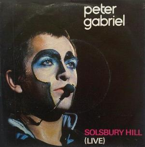 Peter Gabriel - Solsbury Hill (live) CD (album) cover