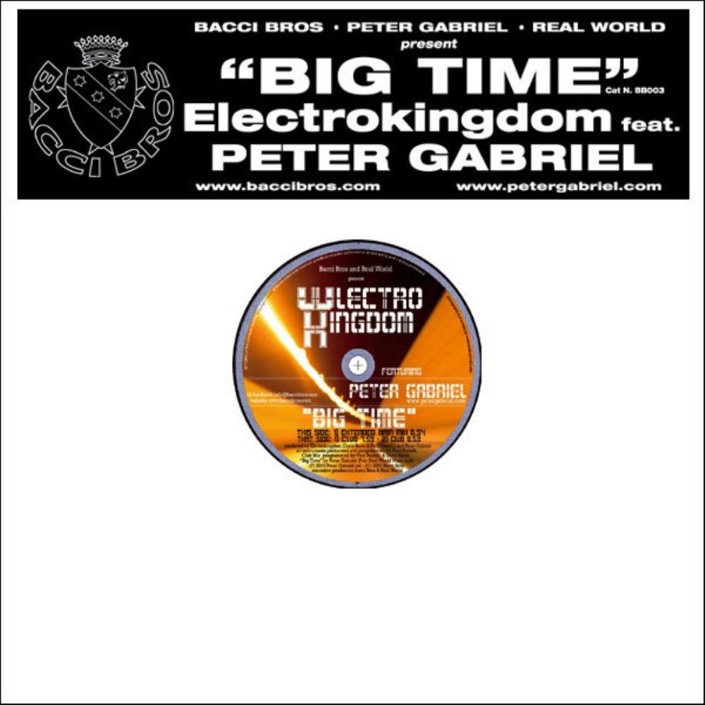 Peter Gabriel - Big Time (with Electro Kingdom) CD (album) cover