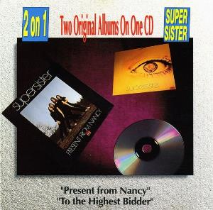 SUPERSISTER - Present From Nancy / To The The Highest Bidder CD album cover