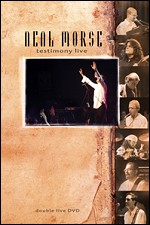 NEAL MORSE - Testimony Live CD (album) cover