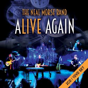 Neal Morse - Alive Again (as The Neal Morse Band) DVD (album) cover