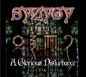 Syzygy - A Glorious Disturbance CD (album) cover