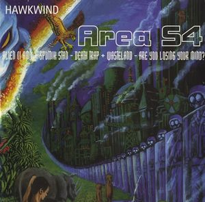 Hawkwind - Area 54 Ep CD (album) cover