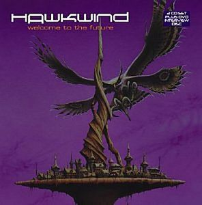Hawkwind - Welcome To The Future DVD (album) cover