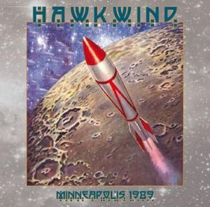 Hawkwind - Minneapolis 1989 CD (album) cover