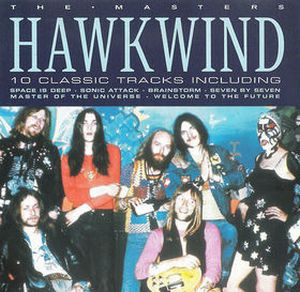 Hawkwind - The Master CD (album) cover