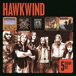 Hawkwind - 5 Album Set CD (album) cover