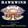 Hawkwind - Zones / This Is Hawkwind... Do Not Panic CD (album) cover