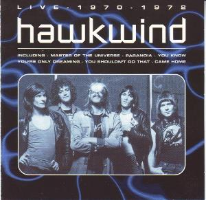 Hawkwind - Live - 1970-72 CD (album) cover