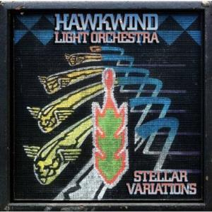 Hawkwind - Hawkwind Light Orchestra: Stellar Variations CD (album) cover