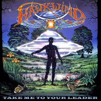 Hawkwind - Take Me To Your Ladder CD (album) cover