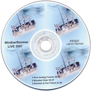 WINTHERSTORMER - Live 2007 CD album cover