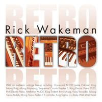 RICK WAKEMAN - Retro CD album cover