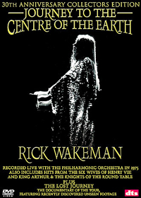 Rick Wakeman - Journey To The Centre Of The Earth DVD (album) cover