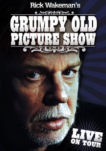 Rick Wakeman - Rick Wakeman's Grumpy Old Picture Show DVD (album) cover