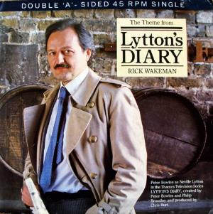 Rick Wakeman - The Theme From Lytton's Diary CD (album) cover