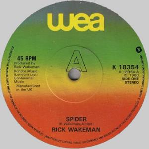 Rick Wakeman - Spider CD (album) cover