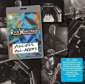 Rick Wakeman - Access All Areas CD (album) cover