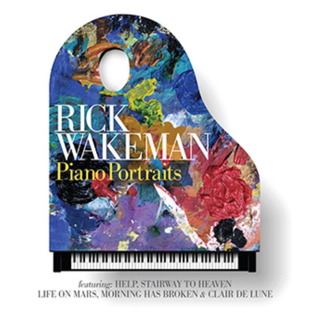 Rick Wakeman - Piano Portraits CD (album) cover